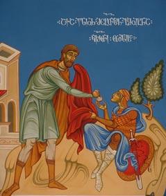 ელიოზ მცხეთელის მიერ კვართის გამოსყიდვა