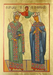 მოციქულთა სწორნი  მეფე მირიანი და დედოფალი ნანა