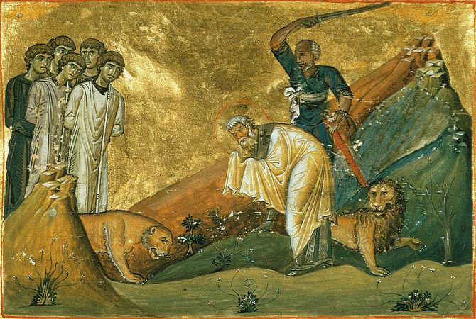 მღვდელმოწამე იანუარიუს ეპისკოპოსი და მის თანა წამებულნი: ფავსტო, პროკულე და სოსიოს დიაკონნი, დისიდერიოს წიგნისმკითხველი, ევტიქი და აკუტიონი