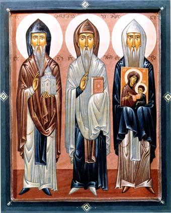 ღირსნი ათონელნი მამანი: იოანე - ეფთვიმეს მამა და გაბრიელი