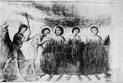მოწამენი: თეოდორე, მიანე, იულიანე და კიონი